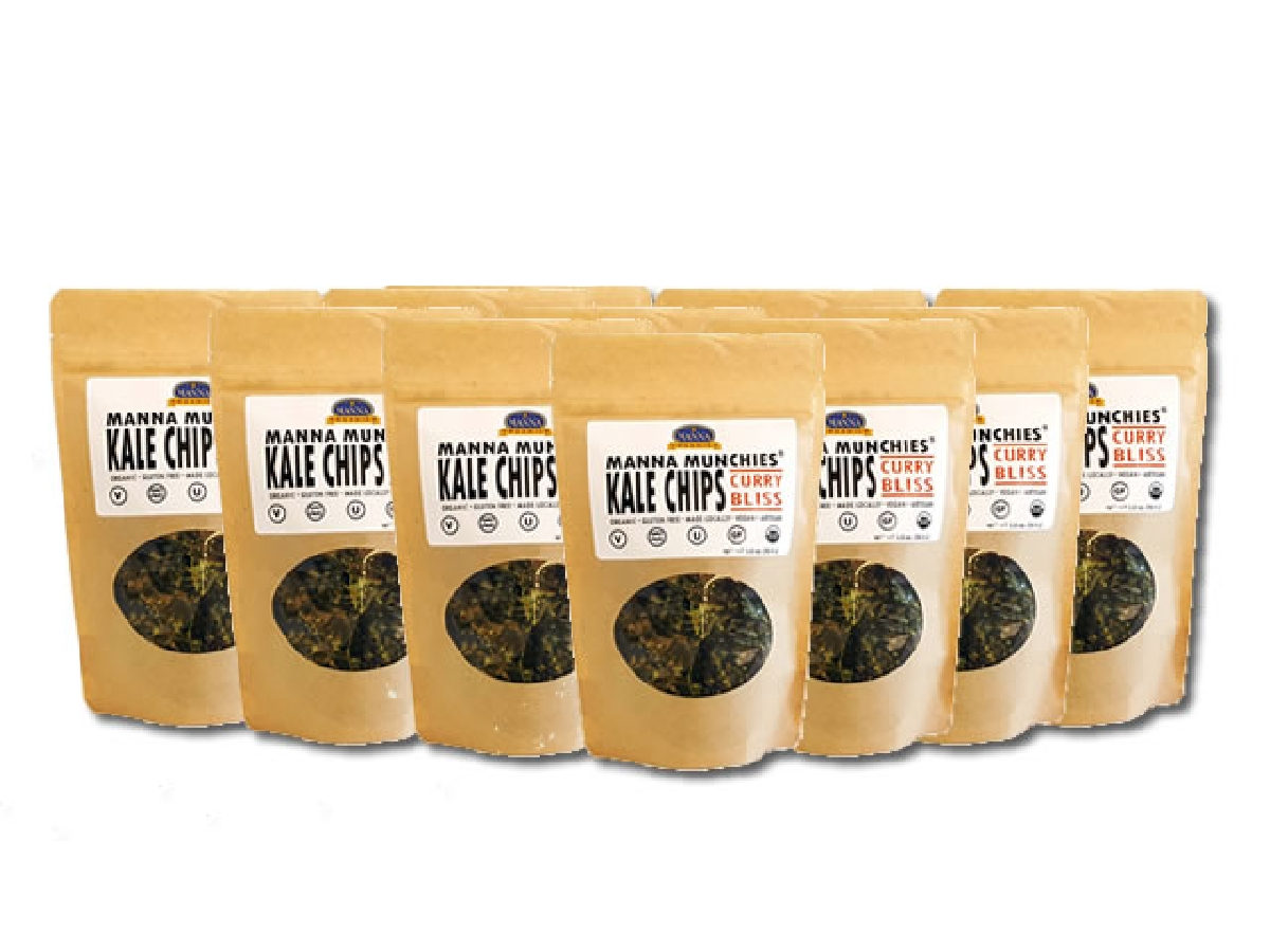 Kale Chips Curry Bliss Case of 12